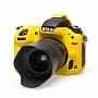 Osłona Gumowa EasyCover na aparat Nikon D750 Yellow . Produkt dostępny od ręki!