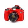Osłona Gumowa EasyCover na aparat  CANON EOS  80D RED . Produkt dostępny od ręki!
