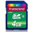 Karta Transcend SD4GB .Produkt dostepny od ręki!