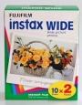 Film typu polaroid Fuji INSTAX WIDE 2x10. Do FUJI INSTAX 210.
