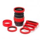 Ochrona Gumowa obiektywu 67mm Red.produkt dostępny od ręki!