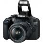 Aaparat CANON EOS 2000D 18-55 IS.Zwrot od Canona 215zł.Produkt dostępny od ręki!
