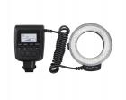 Lampa Macro LED Pierścieniowa RF-550D CANON /NIKON/OLYMPUS /PANASONIC