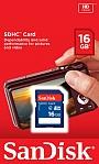 Karta Pamięci SANDISK SDHC 16 GB . Produkt dostępny od ręki!