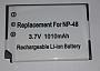 Akumulator zamiennik  FUJI NP-48.Produkt dostepny od ręki!