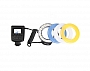 Lampa Macro LED Pierścieniowa Travor RF-600D CANON /NIKON/OLYMPUS /PANASONIC/SONY  Produkt dostępny od ręki!!!