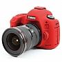 Osłona Gumowa EasyCover na aparat  CANON EOS  5D MK III /5Ds /5DsR RED . Produkt dostępny od ręki!