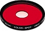 Filtr Hoya Color Spot RED 52mm.Produkt dostępny od ręki!