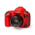 Osłona Gumowa EasyCover na aparat  CANON EOS  5D MK IV  RED . Produkt dostępny od ręki!