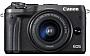Canon Eos M6 + 15-45 f/ 3,5-6,3 IS STM + voucher o wartości 400 zł do wykorzystania w serwisie Wyjatkowyprezent.pl