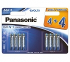 Panasonic bateria LR03 kpl 8szt AAA