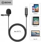 Mikrofon krawatowy BOYA BY-M3 Do Smartfonów i Tabletów