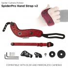 Pasek nadgarstkowy Spider Pro V2 czerwony