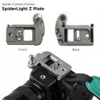 """SpiderLight """"Z""""Camera Plate.Płytka do uchwytu SpiderLight do aparatów bezlusterkowych"""