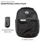 Spider Monkey UtiliityPouch.Futerał na akcesoria z uchwytem mocowania do paska