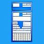 Koperty zleceniowe Niebieskie 1000szt .Produkt dostępny od ręki!