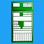 Koperty zleceniowe Zielone 1000szt .Produkt dostępny od ręki!