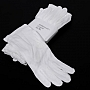 Rękawiczki labolatoryjne bawełniane białe L. Produkt dostepny od ręki!